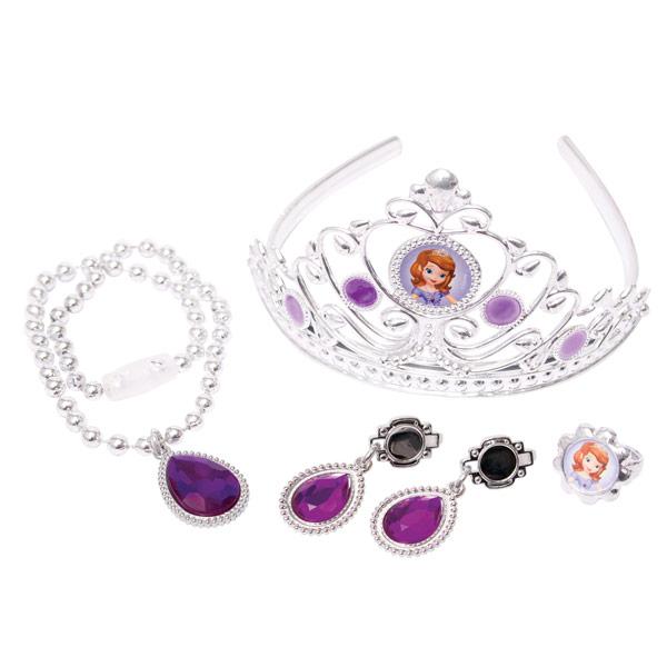 Принцессы 82528 Игровой набор с короной и украшениями из серии София