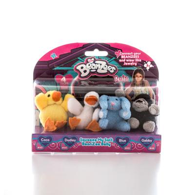Коллекционные плюшевые игрушки Beanzees