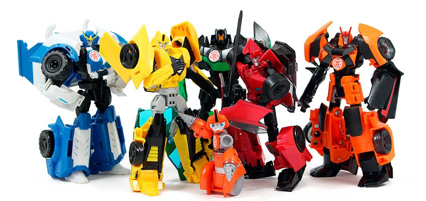 Игрушки Трансформеры. Роботы под прикрытием