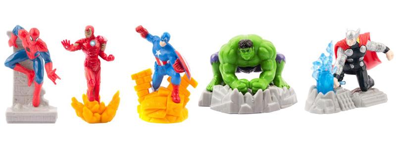 Коллекционные фигурки Zuru Мстители Marvel
