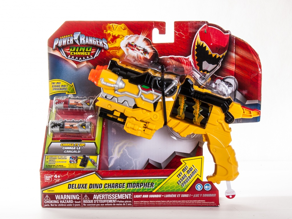 Power Rangers Dino Charge 42000D Пауэр Рейнджерс ДИНО МОРФЕР DX