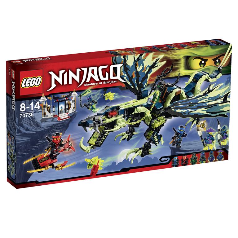 Lego Ninjago 70736 Лего Ниндзяго Атака дракона Морро