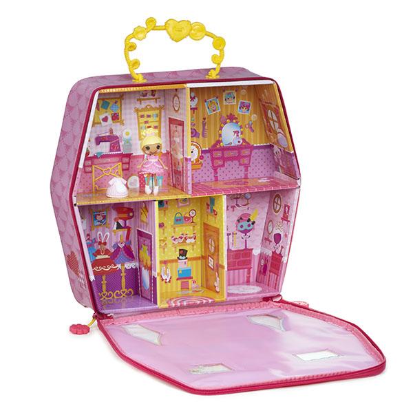 Домик Лалалупси Мини 541950 Mini Lalaloopsy с куклой и дополнительными аксессуарами