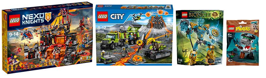 Новинки конструктора LEGO