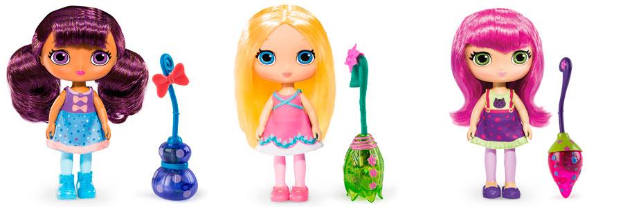 Кукла Little Charmers c метлой