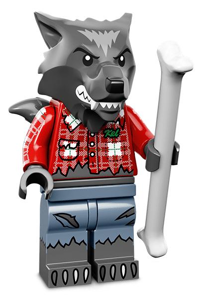 Лего серия 14 минифигурка Оборотень