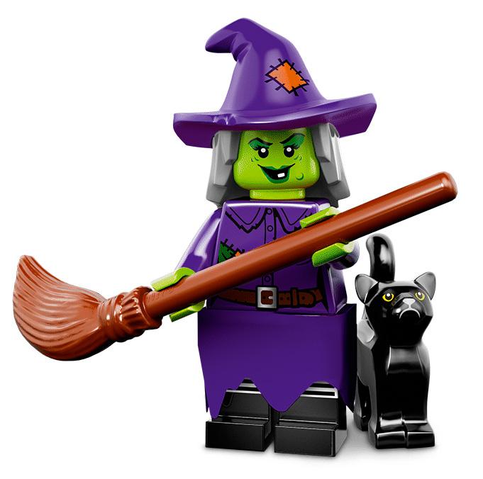 Лего серия 14 минифигурка Сумасшедшая Ведьма