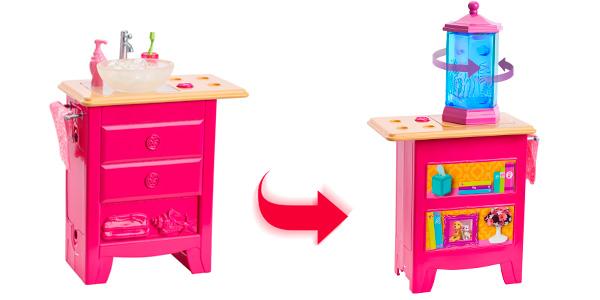 Дом мечты Барби комод