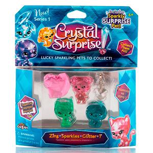 Crystal Surprise 45714 Кристал Сюрприз фигурки 4 шт