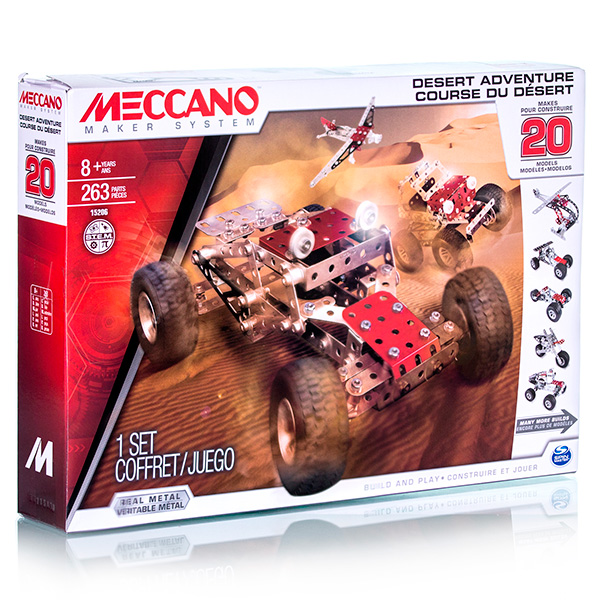 Meccano 91752 Меккано Набор Гоночная машина на радиоуправлении (2 модели)