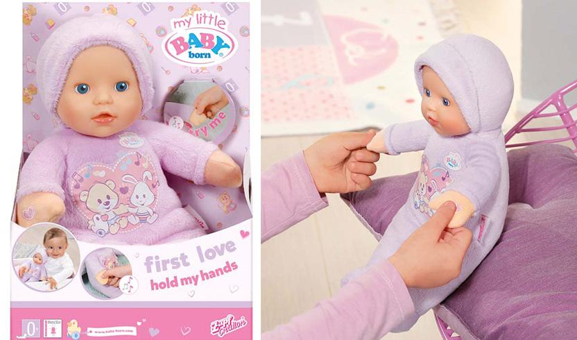 my little BABY born Кукла музыкальная