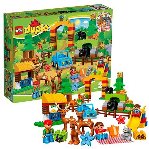 Lego Duplo 10584 Лего Дупло Лесной заповедник