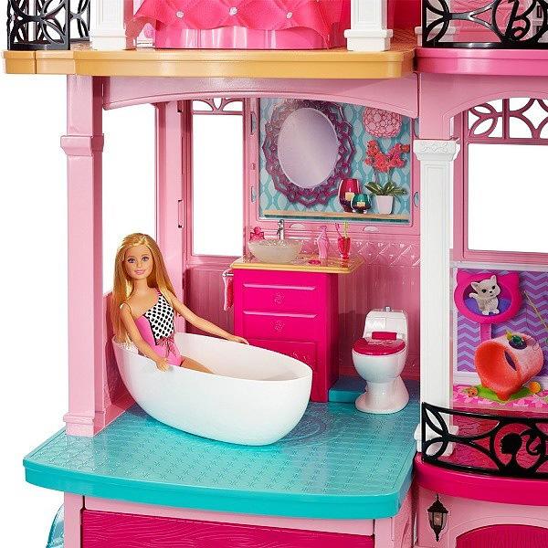 Дом мечты Барби ванная