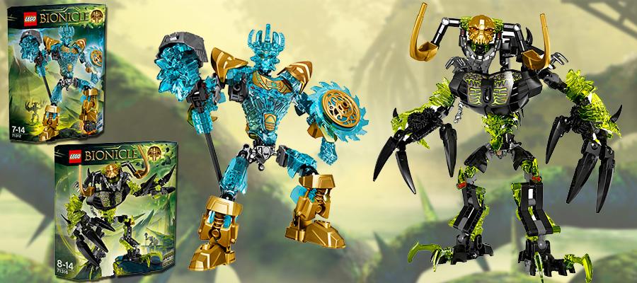 Новинки Lego Bionicle Умарак Разрушитель - новый Экиму