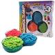Kinetic sand 71403 Кинетик сэнд Кинетический песок для лепки, 3 цвета в наборе, в ассортименте