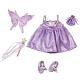 Zapf Creation Baby born® 808-207 Бэби Борн Одежда  de Luxe Маленькая Фея в Стране чудес