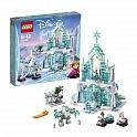 Обзор конструктора LEGO Disney Princess Волшебный ледяной замок Эльзы