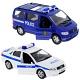"""Welly 99610-6A Велли Игровой набор машин """"Полиция"""" 6 шт."""
