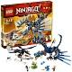 Lego Ninjago 2521 Лего Ниндзяго Битва Дракона-Молния