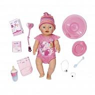 Zapf Creation Baby born 823-163 Бэби Борн Кукла Интерактивная, 43 см,