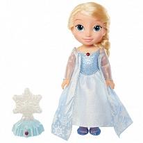 Disney Princess 297750 Принцессы Дисней Кукла Холодное Сердце Эльза Северное сияние, функциональная