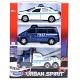 """Welly 99610-3A Велли Игровой набор машин """"Полиция"""" 3 шт."""