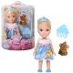 Disney Princess 754910 Принцессы Дисней Малышка с питомцем 15 см. в асс