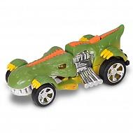 Hot Wheels HW90572 Машинка Хот вилс на батарейках свет+звук, динозавр зеленый 13,5 см