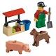 Lego City 7566 Лего Город Фермер
