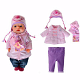 Одежда для интерактивной куклы Zapf Creation Baby born 820-742 Бэби Борн Теплая одежда