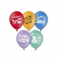 Веселая Затея 1111-0283 Набор шаров рис Disney Тачки 30 см 5 шт