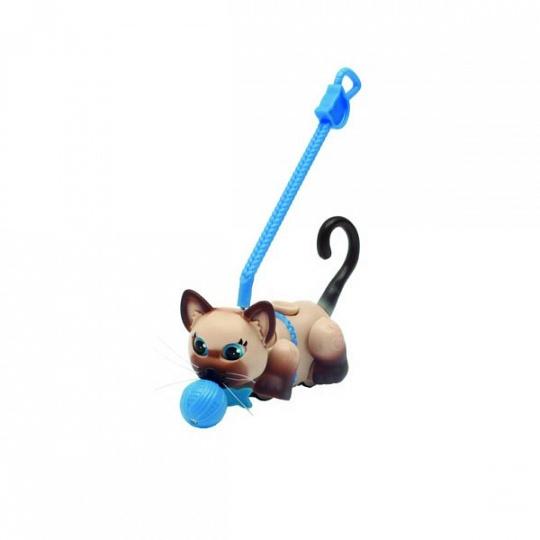Pet Club Parade PTC00222 Пет Клаб Парад Фигурка кошечки с мячиком и поводком, в ассортименте