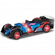 Hot Wheels HW90711 Машинка Хот вилс на батарейках свет+звук, механическая синяя 16 см