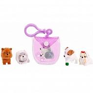Puppy In My Pocket 48180-V Щенок в моем кармане Брелок-сумочка (фиолетовая)
