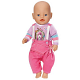 Zapf Creation Baby born 818-046 Бэби Борн Одежда с принтом