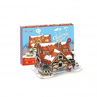 Cubic Fun P647h Кубик фан Рождественский домик 1 (с подсветкой)