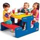 Little Tikes 4668L Литл Тайкс Большой стол с двумя скамейками (на 6 детей)