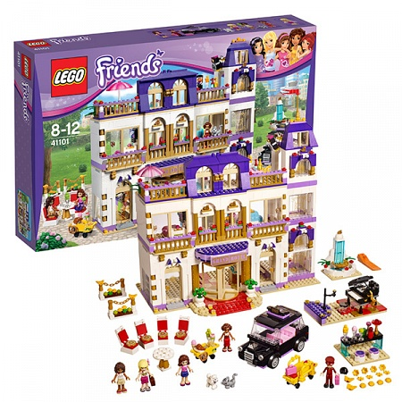 Lego Friends 41101 Лего Подружки Гранд Отель в Хартлейк Сити
