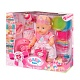 Zapf Creation Baby born 823-095 Бэби Борн Кукла Интерактивная Праздничная, 43 см
