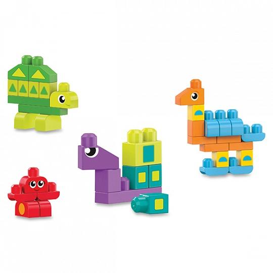 Mega Bloks Обучающий конструктор Разные формы