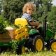 Детский электромобиль Peg-Perego OR0047 JD Ground Force w/trailer