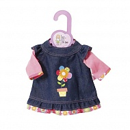 Zapf Creation my mini Baby born® 870-013 Бэби Борн Одежда для кукол высотой 30-36 см, Платье