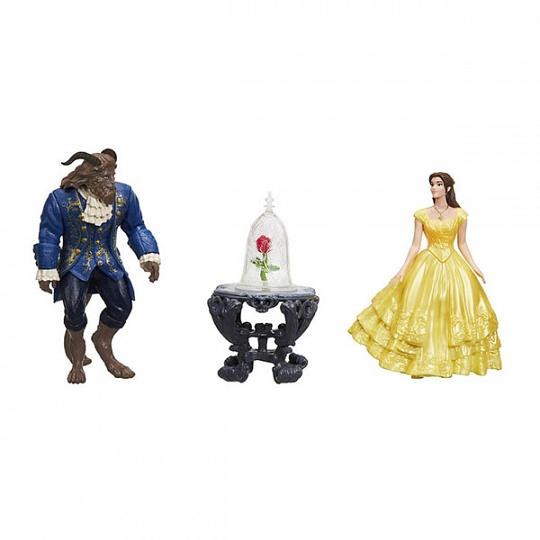 Hasbro Disney Princess Набор маленьких кукол Белль и Чудовище