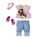 Zapf Creation Baby born 819-357 Бэби Борн  Одежда модная, 3 асс