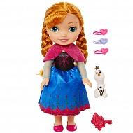 Disney Princess 989120 Принцессы Дисней Кукла Холодное Сердце Малышка Анна с аксессуарами 35 см