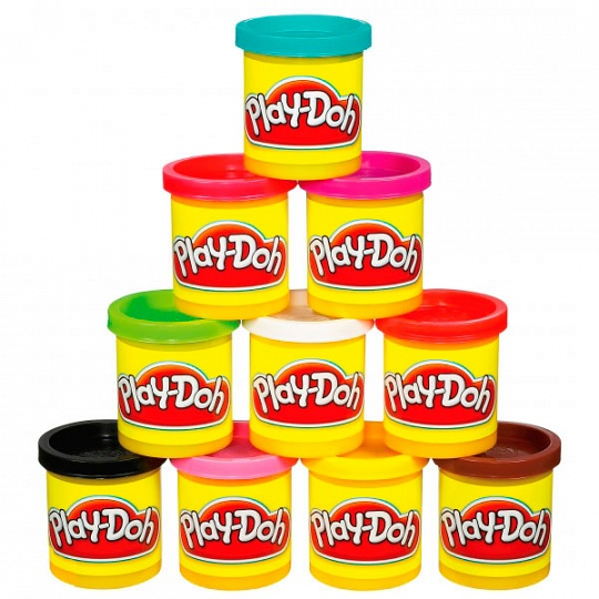 Play-Doh Баночка пластилина, в ассортименте