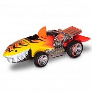 Hot Wheels HW90574 Машинка Хот вилс на батарейках свет+звук, акула желтая 13,5 см
