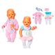 Zapf Creation Baby born 815-526 Бэби Борн Одежда домашняя для девочки, 2 асс.