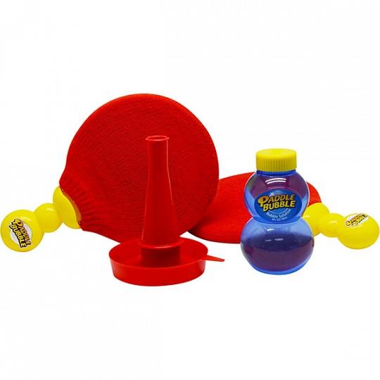 Paddle Bubble Мыльные пузыри 60 мл с набором ракеток
