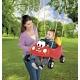 Little Tikes 633485 Литл Тайкс Сиденье для качелей, машина красная